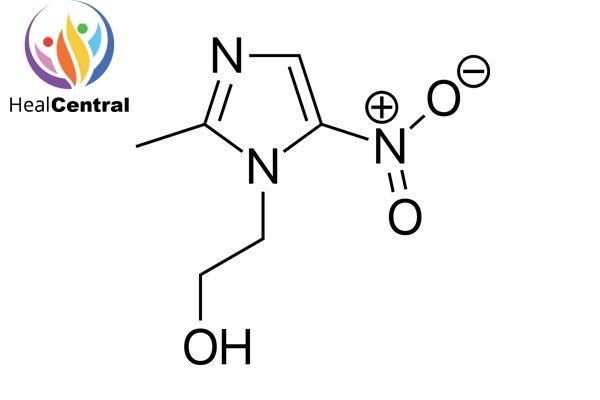 Công thức của Metronidazole