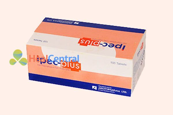 Hộp thuốc Ipec-Plus tablets