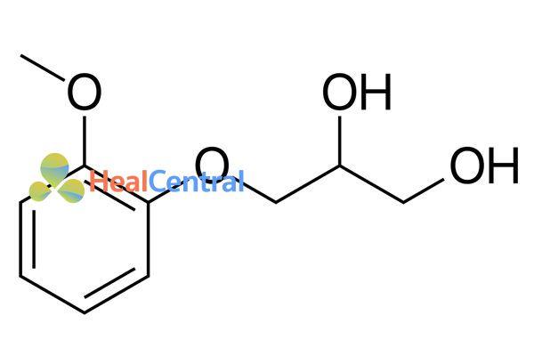 Công thức hóa học Guaifenesin