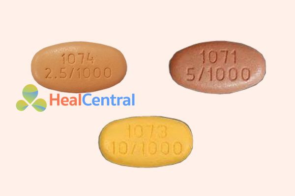 Dapagliflozin 2.5 mg, 5 mg, 10 mg
