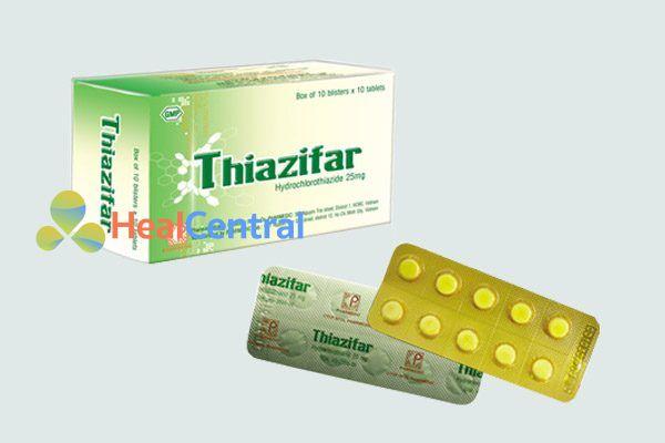 Thuốc lợi tiểu Thiazid