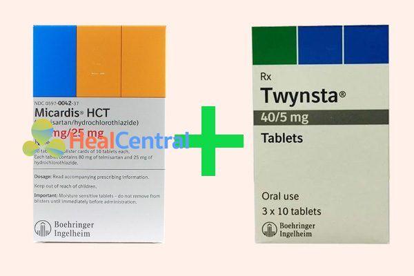 Sử dụng kết hợp Micardis HCT và Twynsta