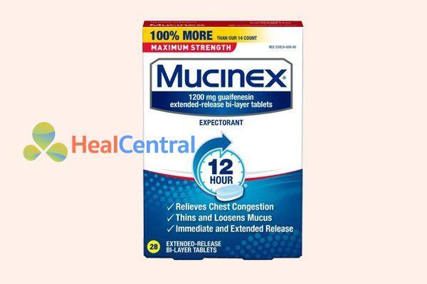 Thuốc Mucinex