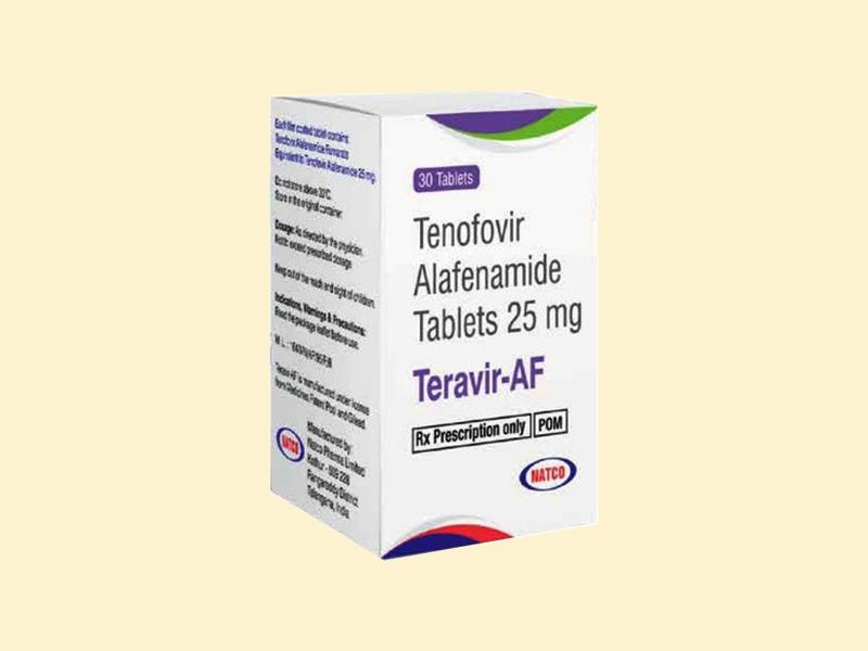 Hình ảnh: Hộp thuốc Teravir - AF