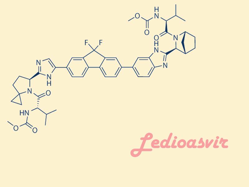 Công thức hóa học của Ledipasvir