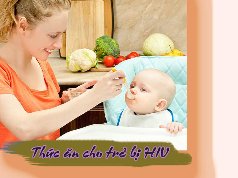 Thức ăn cho trẻ bị HIV